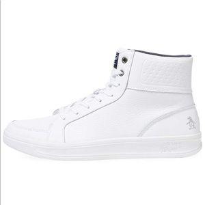 Men's Beckin High-Top Leather Sneaker
